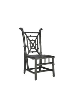 BAMBOO SIDE CHAIR - BLACK