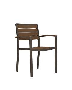 Tate Armchair - Bronze/Cognac