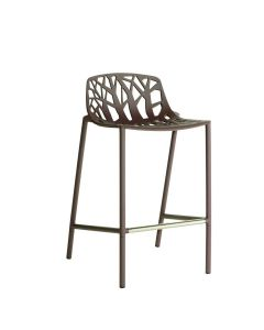 Forest Low Back Counter Stool - Espresso