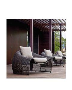 Croissant Lounge Chair - Java