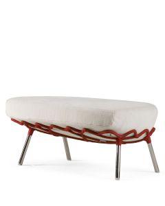 Dragnet Ottoman - Red