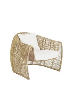 Lulu Lounge Chair Interior - Natural