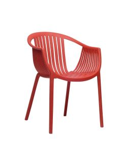 Lattice Armchair - Red