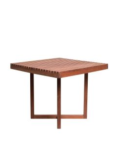 Miramar Wood Dining Table Square 90