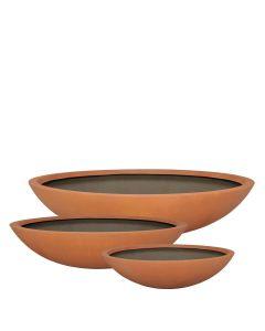 Dish Planter - Tuscan Orange