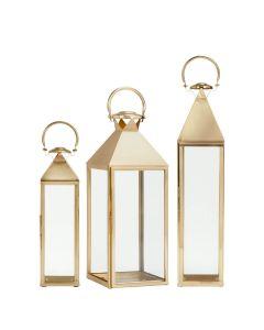 Montpelier Lantern - Antique Brass