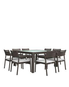 Niche JANUSfiber 9 Piece Dining Set - Bronze